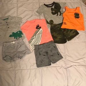 Baby boy 9 month summer outfits